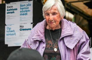 Esther Bejarano & VVN-BdA e.V. hat diese Petition an Angela Merkel (Bundeskanzlerin)