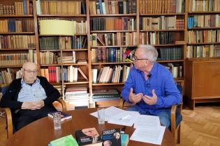 Dr. Friedrich Wolff und Paul Werner Wagner in Lehnitz