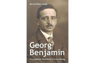 Buchcover: Georg Benjamin